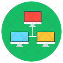Computer Network Local Area Network Lan Icon