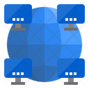 Computer Network Lan Network Local Area Network Icon