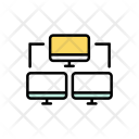 Networking Computer Device Icon