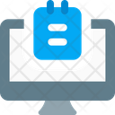 Computer Note Icon