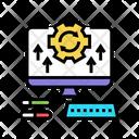 Computer Optimize Computer Optimize Icon