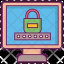 Computer Password Safe Unique Icon