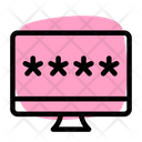 Computer Password Computer Security Computer Lock Icon
