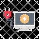 Energy Power Voltage Icon