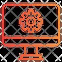 Computer Process Icon