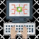 Computer Programming Computer Repairing Computer Maintenance Icon