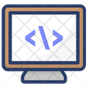 Coding Computer Programming Html Icon
