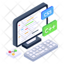 Computer Programming Web Coding Web Development Icon