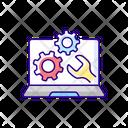 Repair Service Diagnose Icon