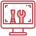 Computer Repairing Icon