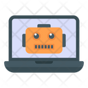 Computer Robot Icon