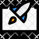 Online Startup Startup Computer Rocket Icon
