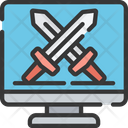 Computer Rpg Game Icon