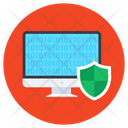 Computer Safety Computer Shield Protective Shield Icon