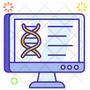 Computer Science Medical Science Information Technology Icon