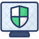 Computer Security Data Privacy Data Protection Icon