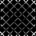 Computer Security Web Icon