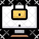 Computer Security Lock Icon