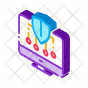Personal Computer Protection Icon