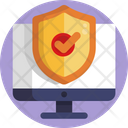 Computer Security Shield Computer Protection Icon