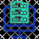 Icomputer Server Computer Server Server Icon