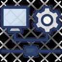 System Advancement Computer Configuration Computer Development Icon