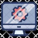 Computer Setting Web Optimization System Settings Icon