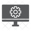 Computer Settings Technology Icon