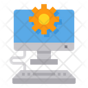 Setting Computer Gear Icon