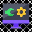Maintenance Computer Setting Computer Icon
