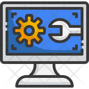 Computer Setting Computer Technical Icon