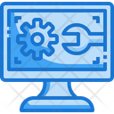 Computer Technical Setting Icon