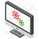 Computer Settings Computer Maintenance Computer Support Icon