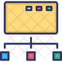 Computer Share Connectivity Network Icon