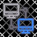 Network Connection Filetransfer Icon