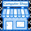 Computer Shop Marketplace Outlet Icon