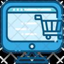 Computer shopping Icon