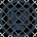 Computer Signal Icon