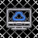 Cloud Storage Online Icon