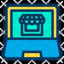 Laptop Computer Ecommerce Icon