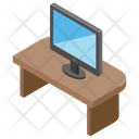 Computer Table Electronic Device Output Device Icon