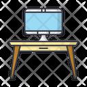 Table Desk Computer Icon