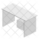 Computer Table Table Office Icon