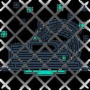 Computer Tomogrophy Equipment Scanner Icon