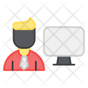 Computer User Computer Avatar Online User Icon