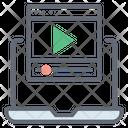 Computer Video Icon