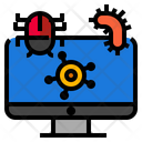 Virus Computer Security Icon