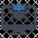 Computer Virus Bug Icon
