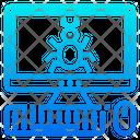 Computer Virus Computer Bug Cyber Crime Icon