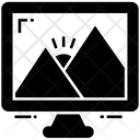 Computer Wallpaper Landscape Paste Up Icon